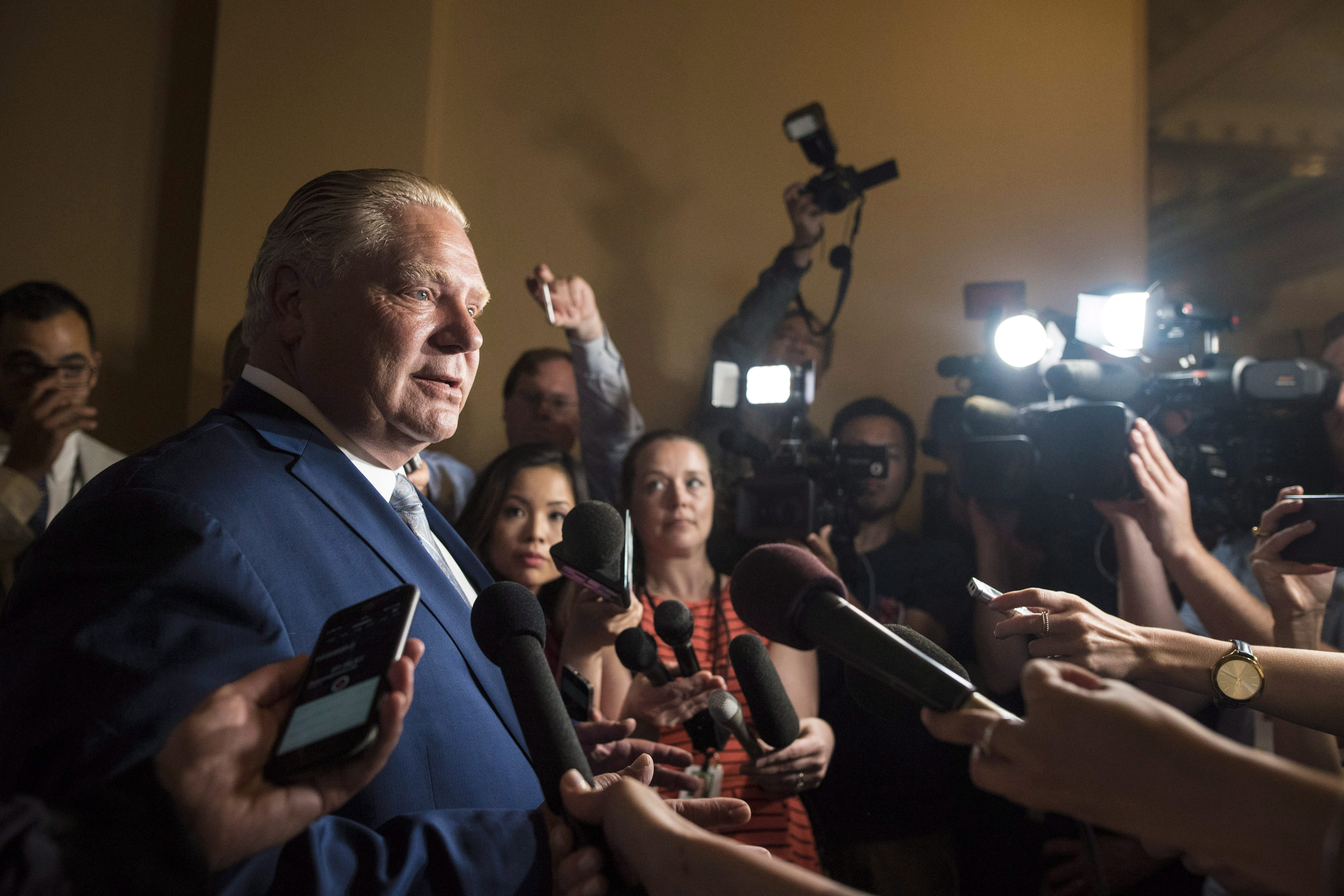 Ford wants consultations on cannabis sales