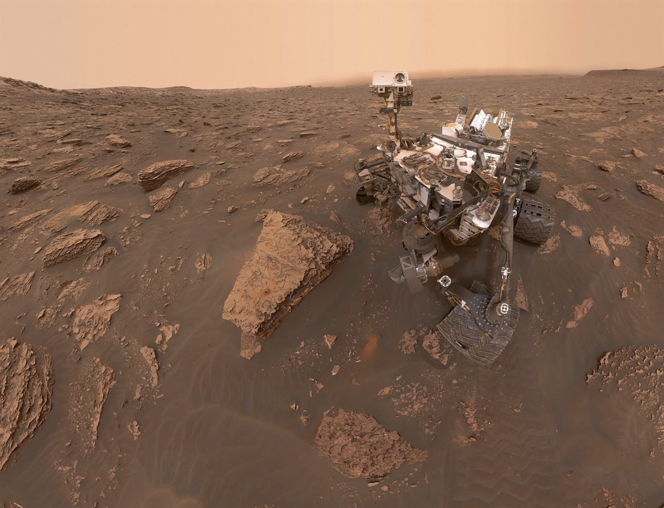 Mars rover still silent as red planet dust storm goes global