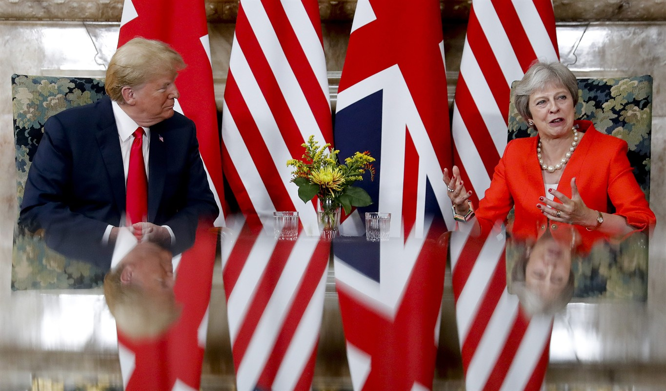White House defends United Kingdom  comments: Trump 'likes and respects' Theresa May