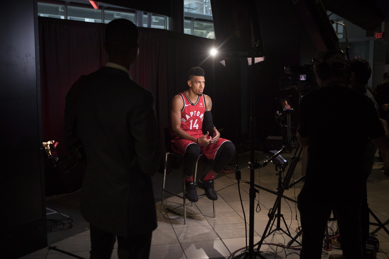 Ultimate teammate  Newcomer Danny Green happy to be leader with young  Raptors e327e8ccc