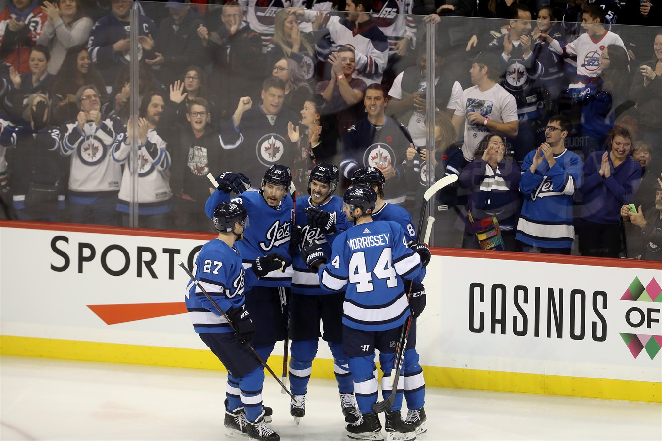 release date: f74a8 b749a Mark Scheifele's three-point performance powers Jets past ...