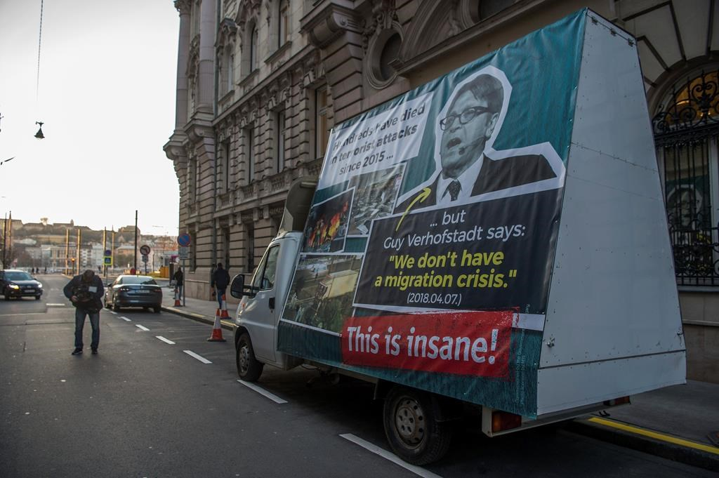 Hungary Launches Mobile Billboard To Counter Criticism