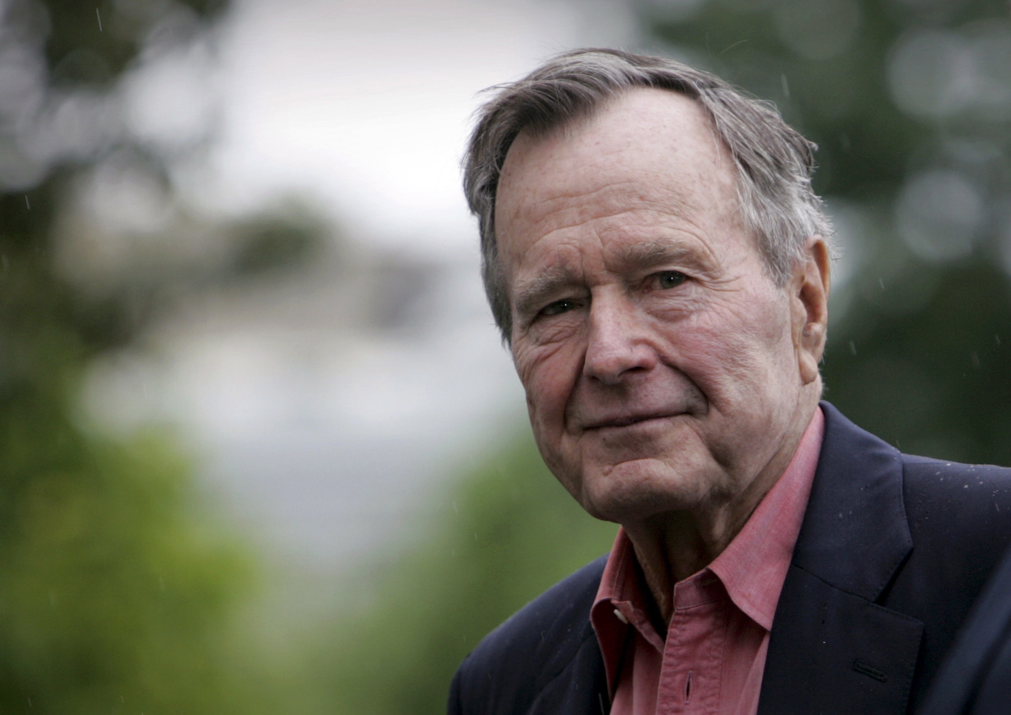 George HW Bush Saluted as a 'Great Man'