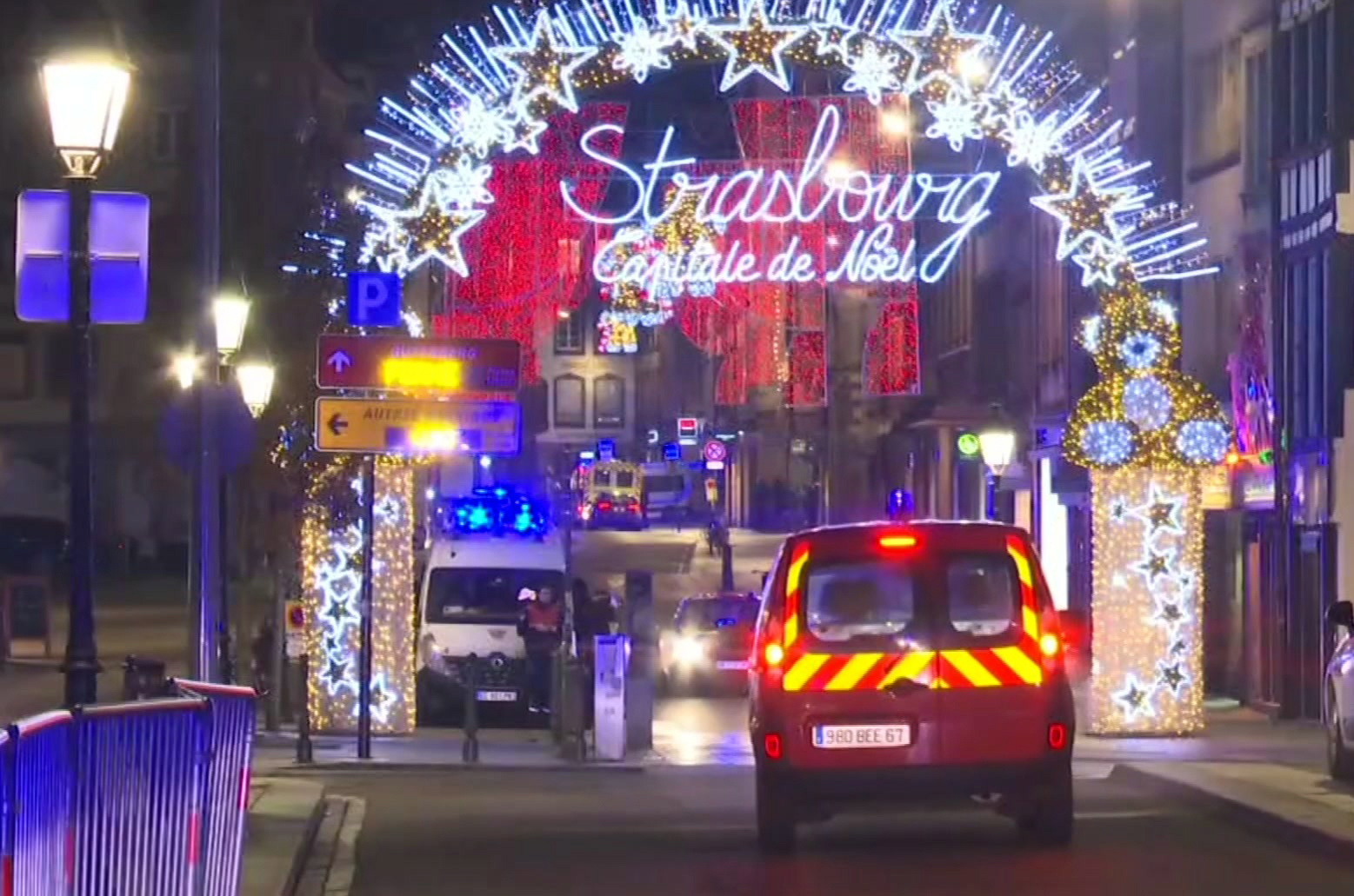 3rd person dies after France Christmas market shooting
