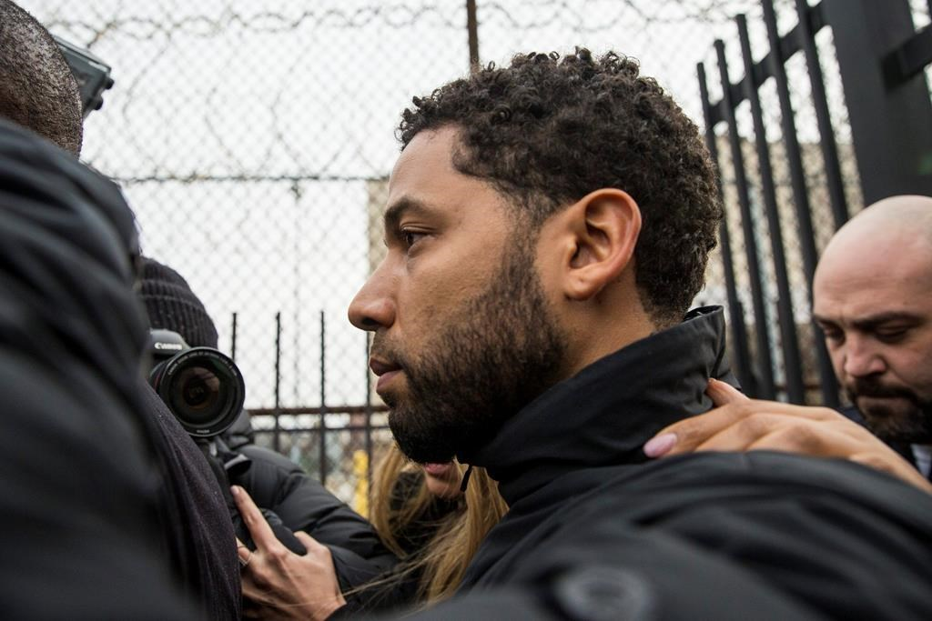 Jussie Smollett: Empire star 'staged hoax attack over salary'