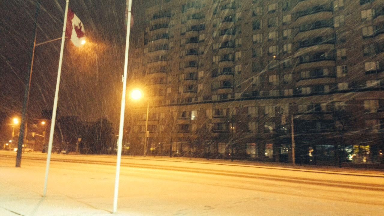 Sudbury under blowing snow, freezing rain warnings