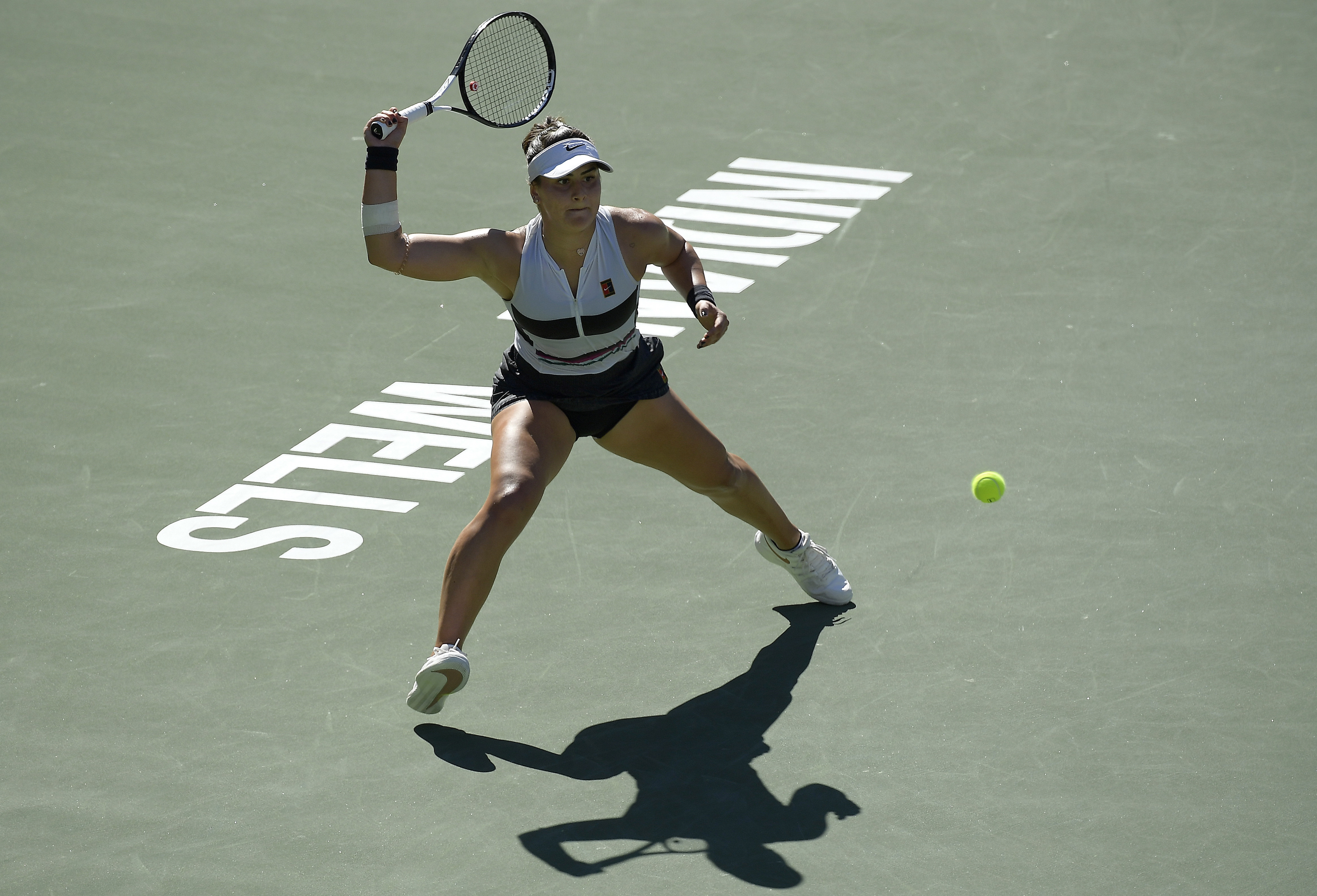 Canadian teen Bianca Andreescu makes history in winning title at Indian Wells