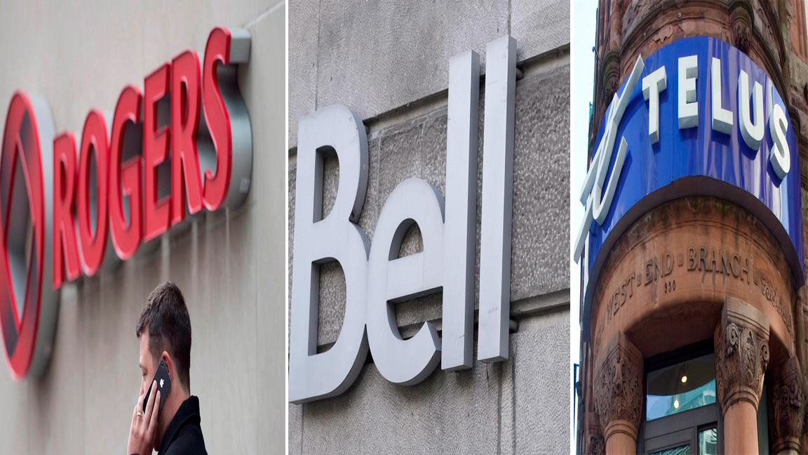 Rogers Bell Canada Telus CRTC wireless internet telephone