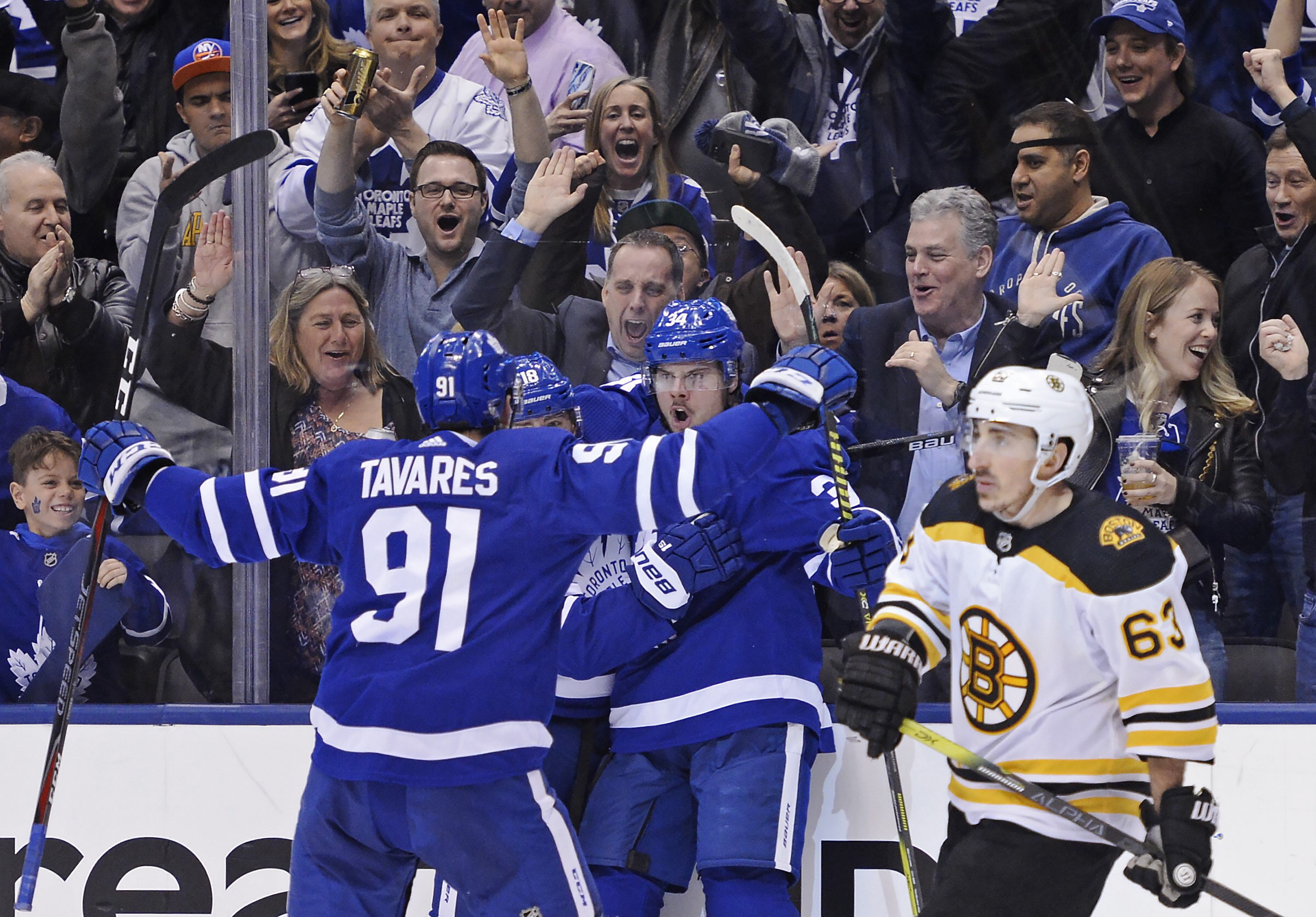 On Now Game 4 Of Maple Leafs Vs Bruins On 680 News 680 News