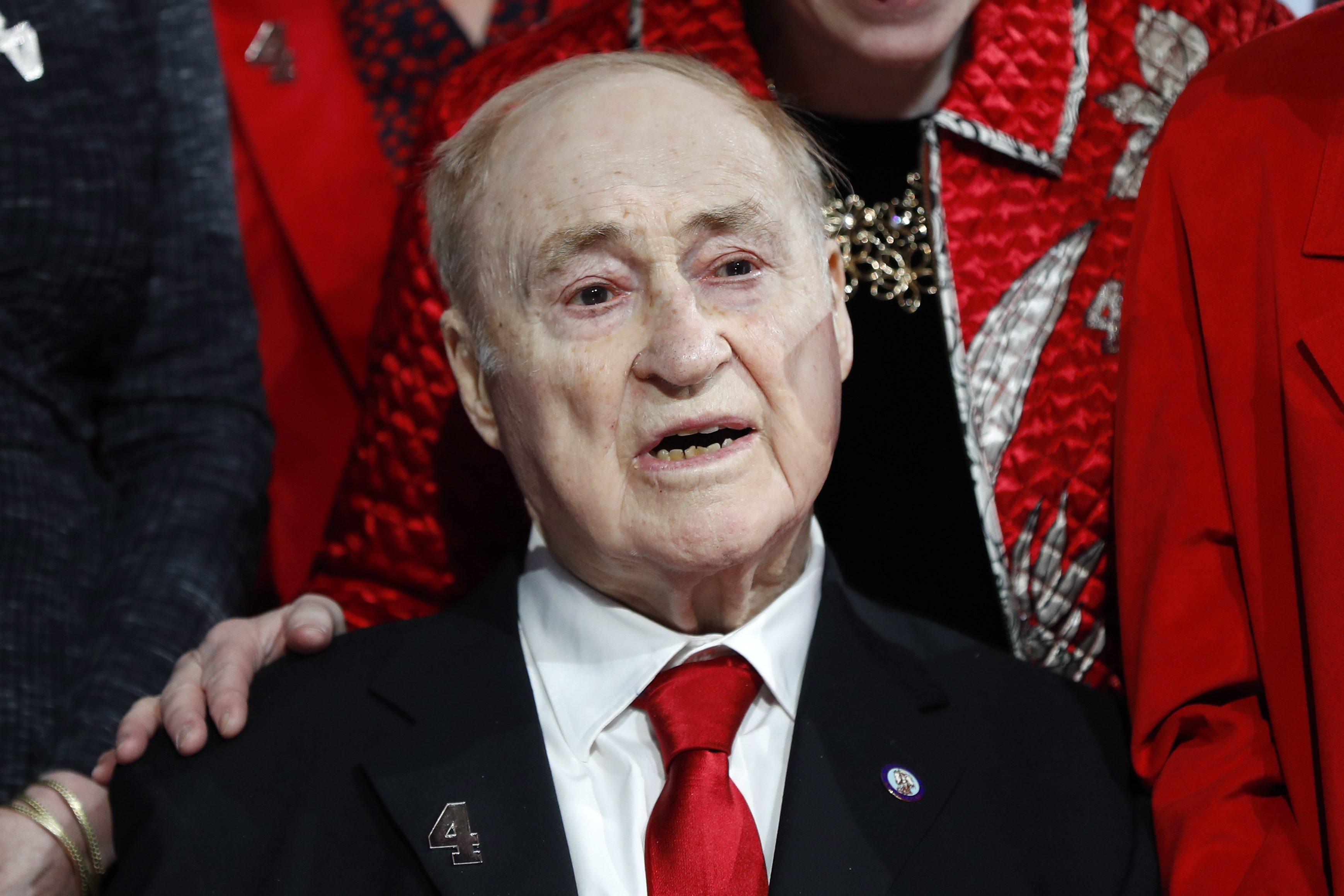 Red Wings legend Red Kelly dies at 91