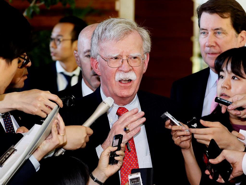 The Latest: Bolton says Iran should stick to nuclear deal ...
