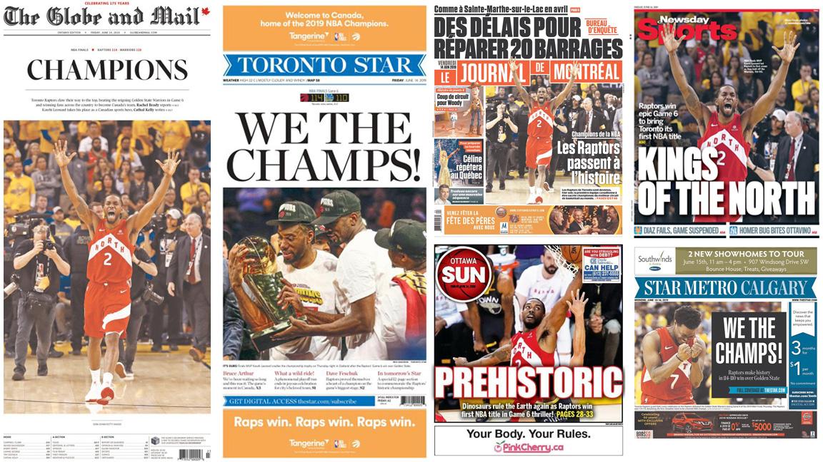 Chronicling the Raptors first NBA championship