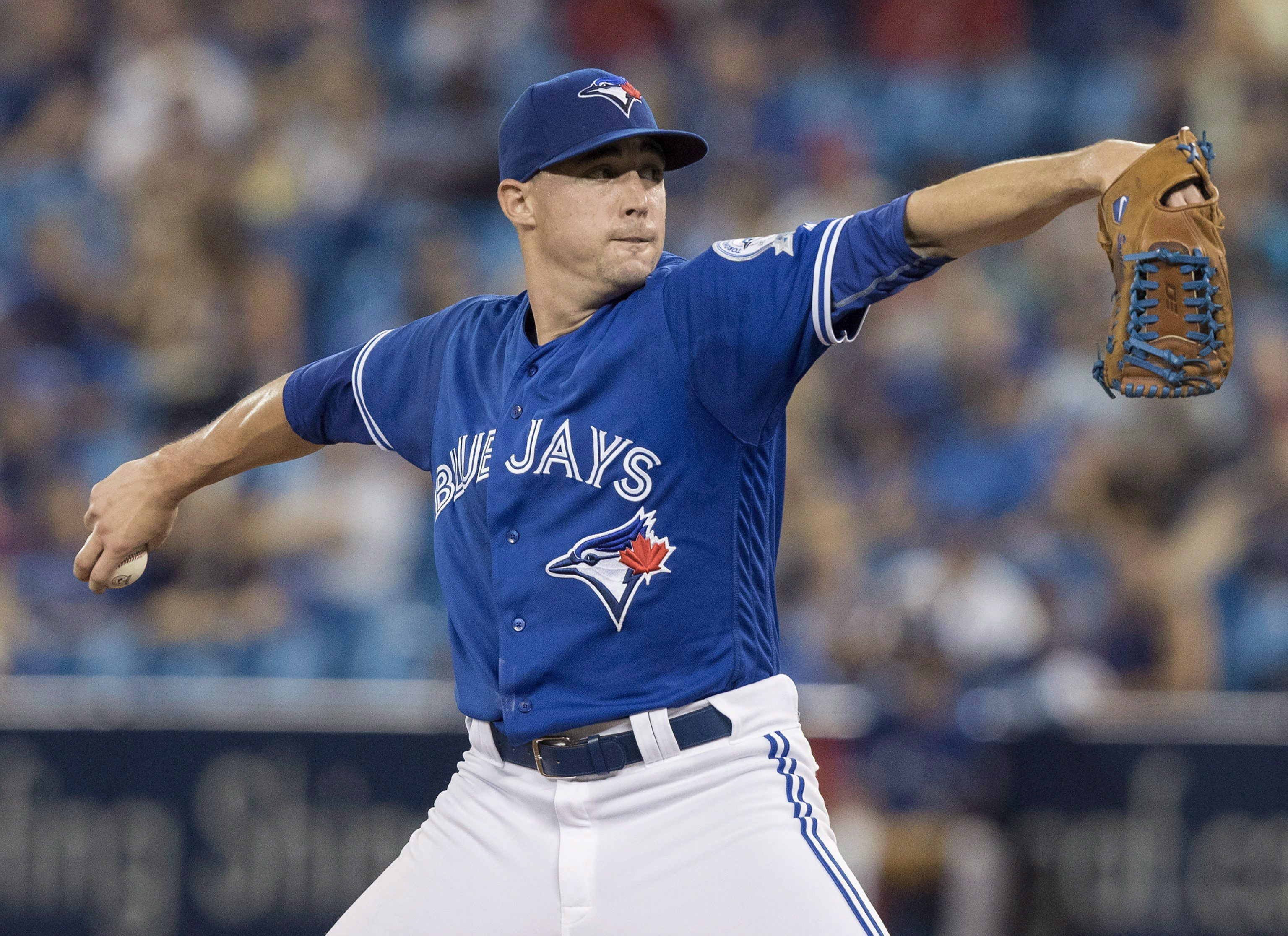 Blue Jays getting 'lots of hits' on Sanchez