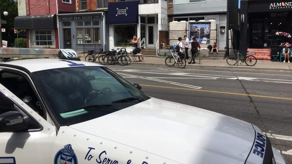 Toronto police issuing tickets outside CAFE locations