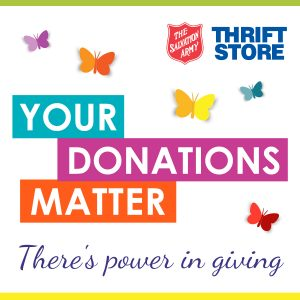 The Salvation Army's 'Your Donations Matter'