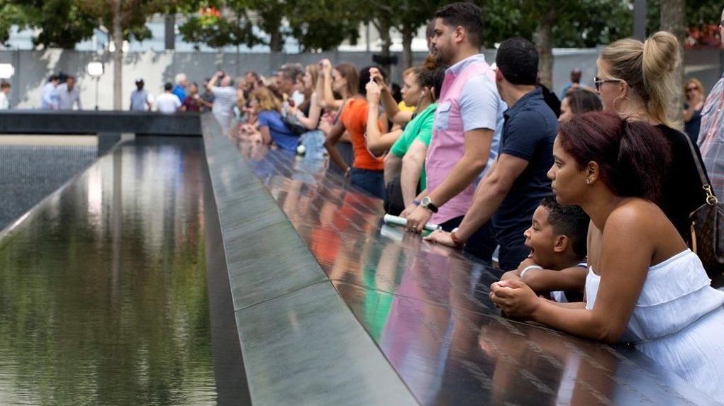 Man takes swipe at 'Squad' during 9/11 ceremony