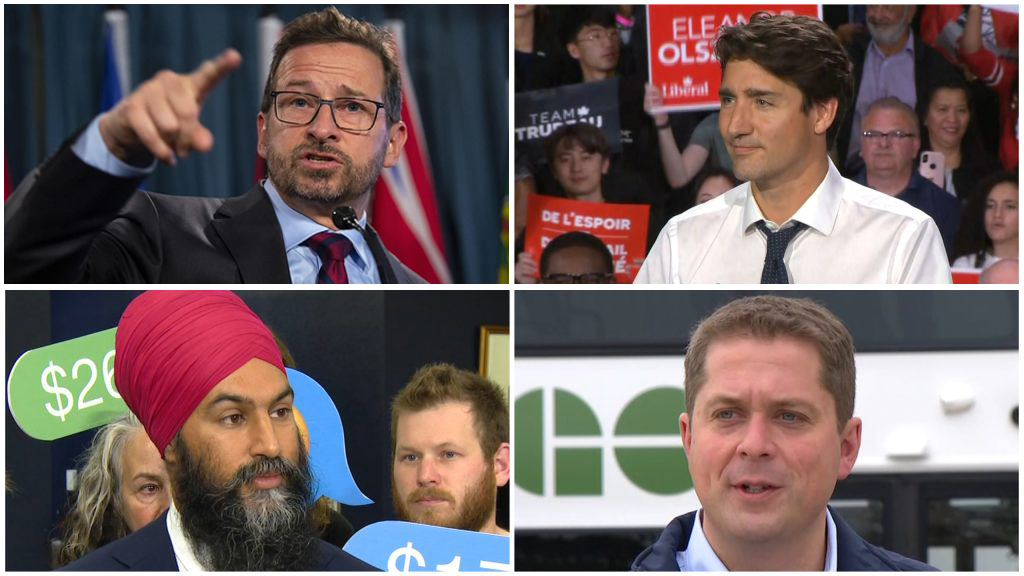 Four Federal Party Leaders Gird For French Language Debate