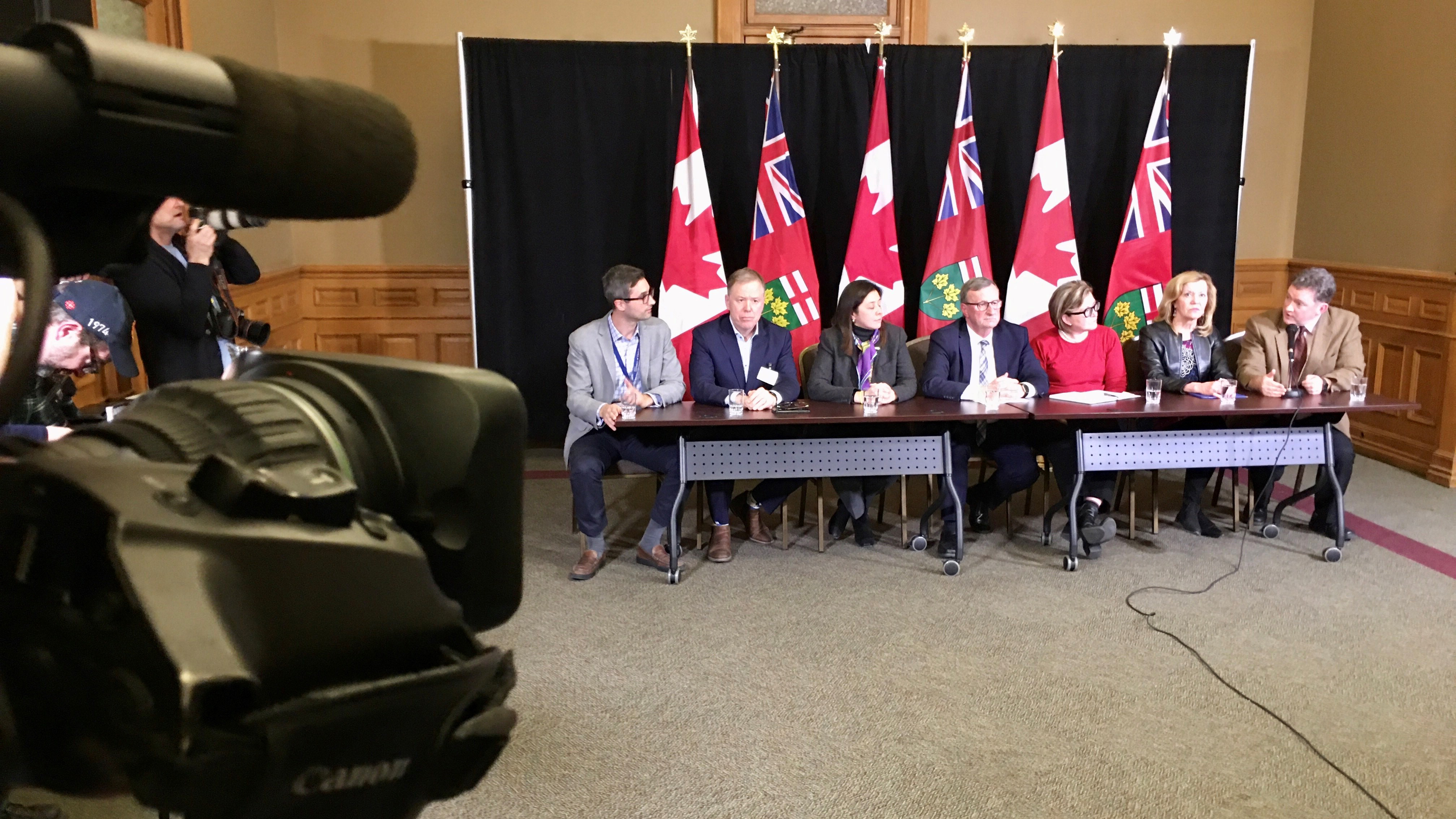 Public health officials in Ontario call evening news conference