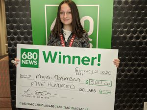 Junior Traffic Reporters visit 680 NEWS for special VIP experience