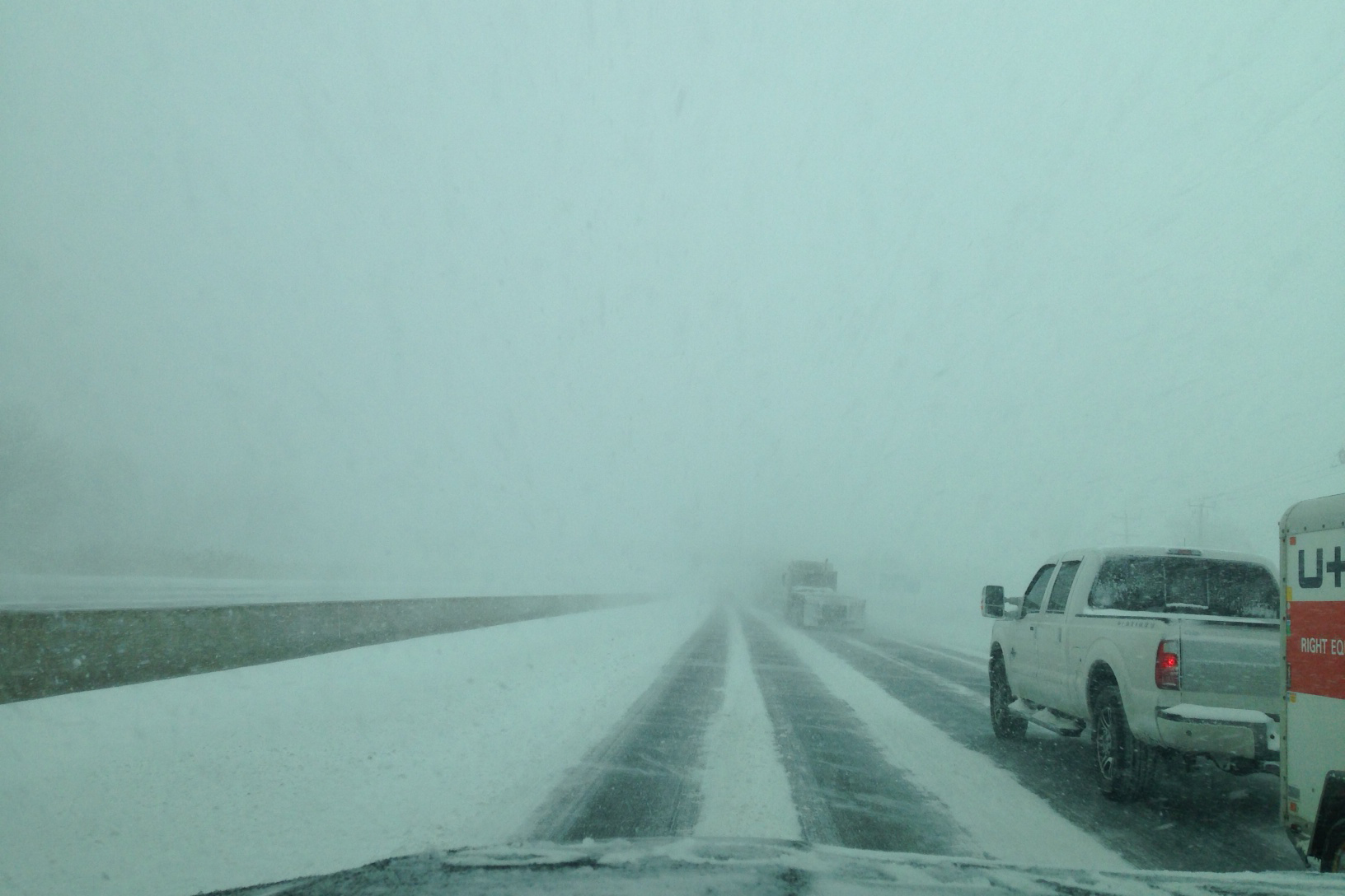 Attention travellers: Snow squalls along Hwy. 400 corridor