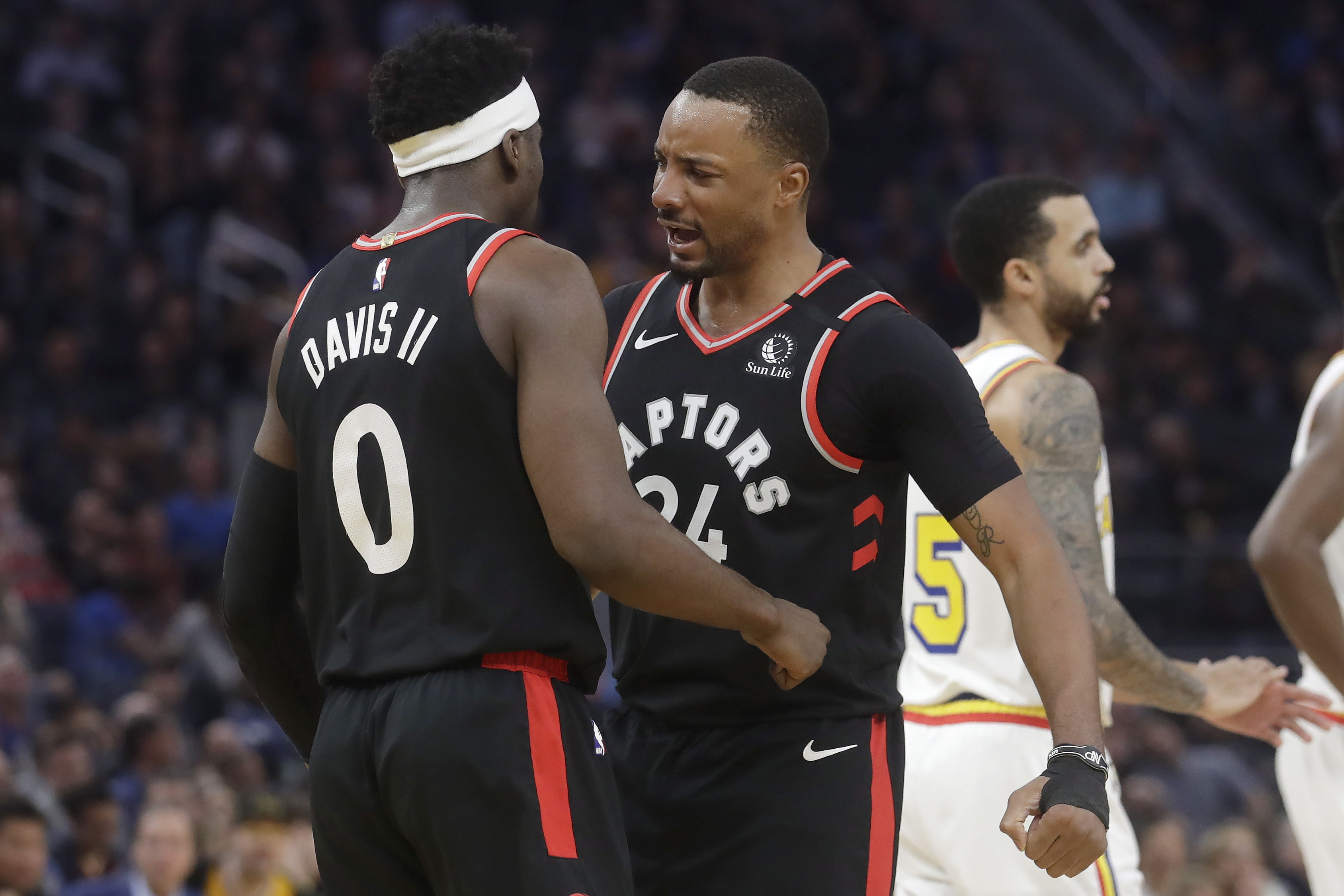Raptors officially clinch playoff berth with victory over Warriors