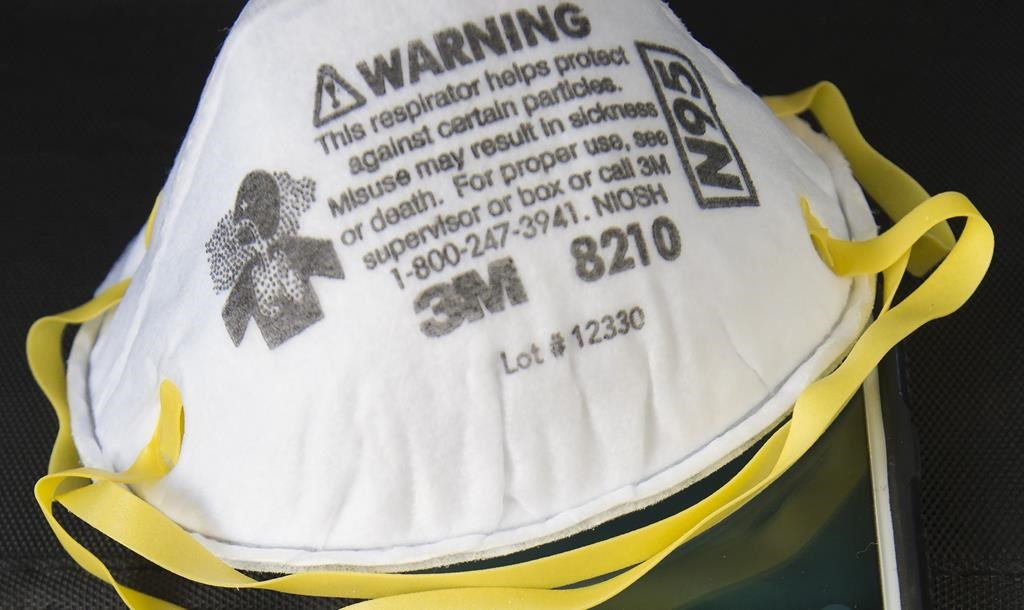 3M pushes back on Trump administration call to stop sending N95 masks to Canada