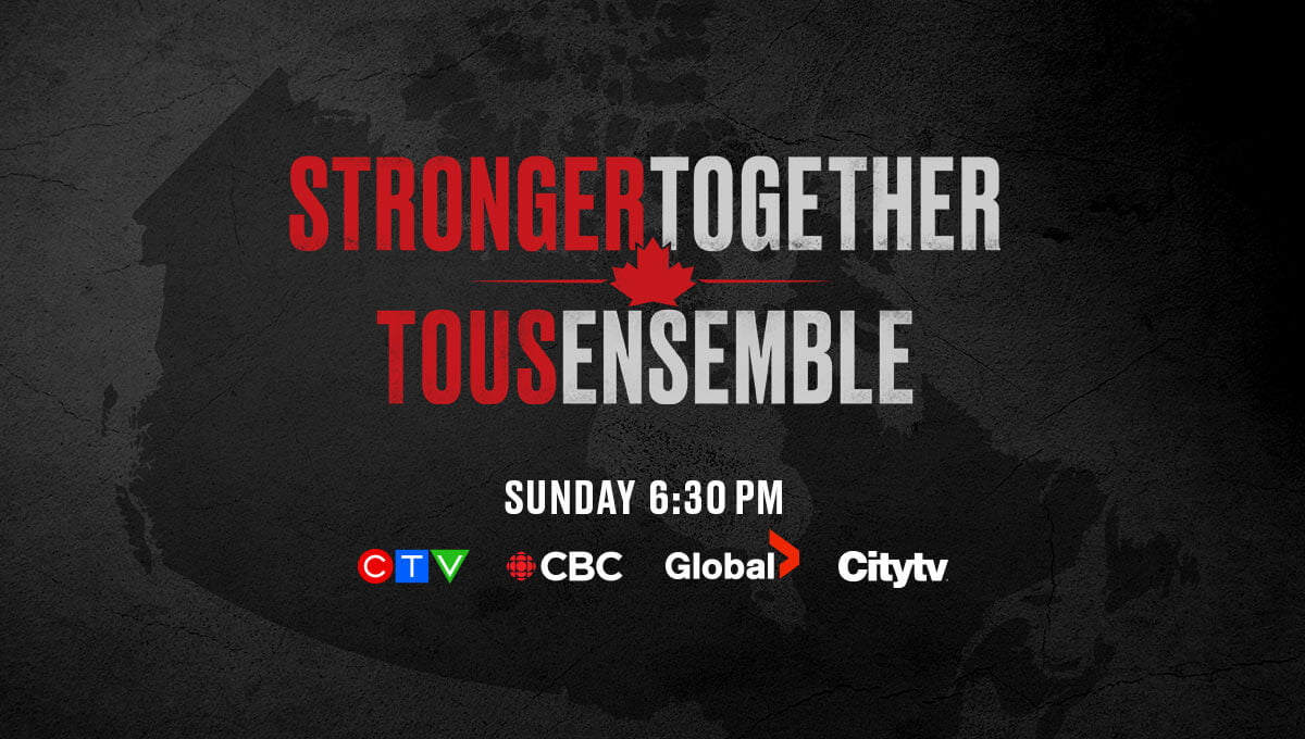 Canadian stars join in coronavirus broadcast fundraiser