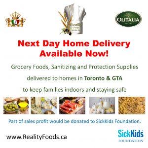 Reality Foods Service Inc.