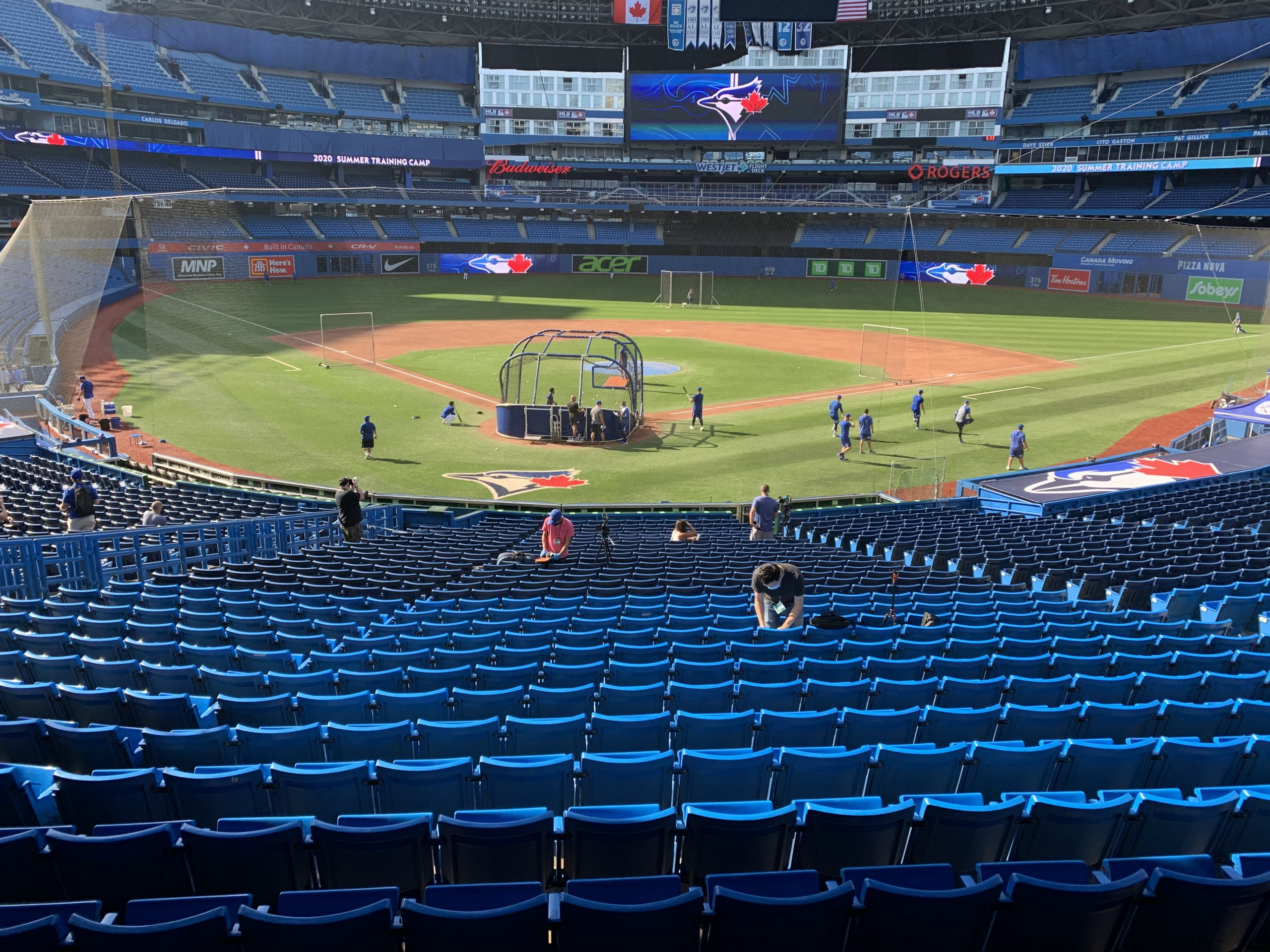 Blue Jays will not be allowed to play games in Canada