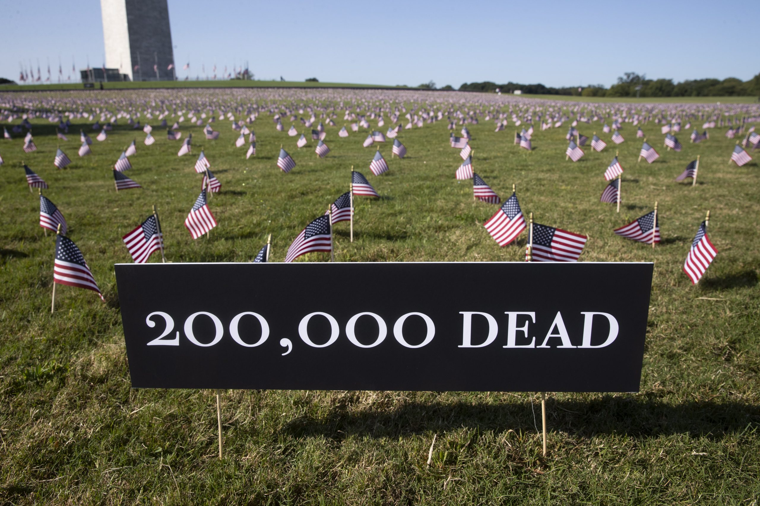 'Sobering and unfathomable': COVID-19 death toll hits 200,000 in U.S.