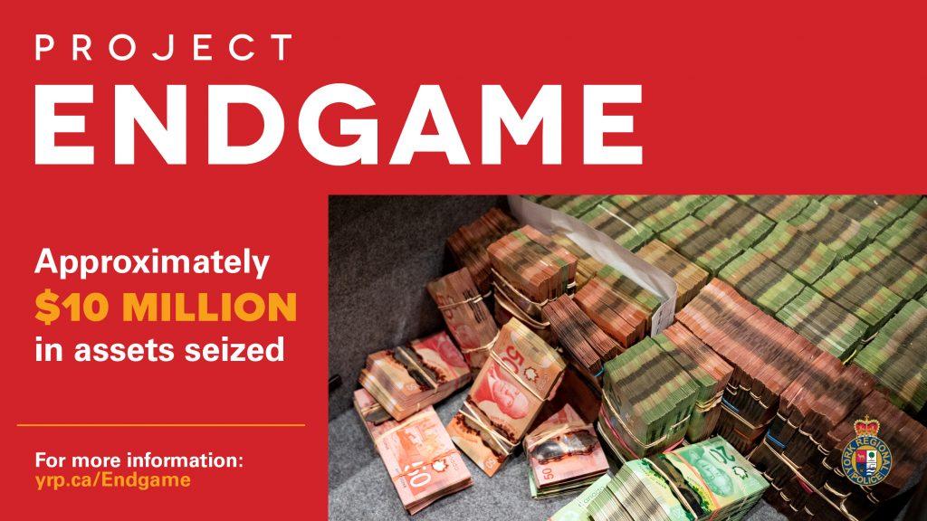 C$1m cash and guns seized in 'illegal casino' raid