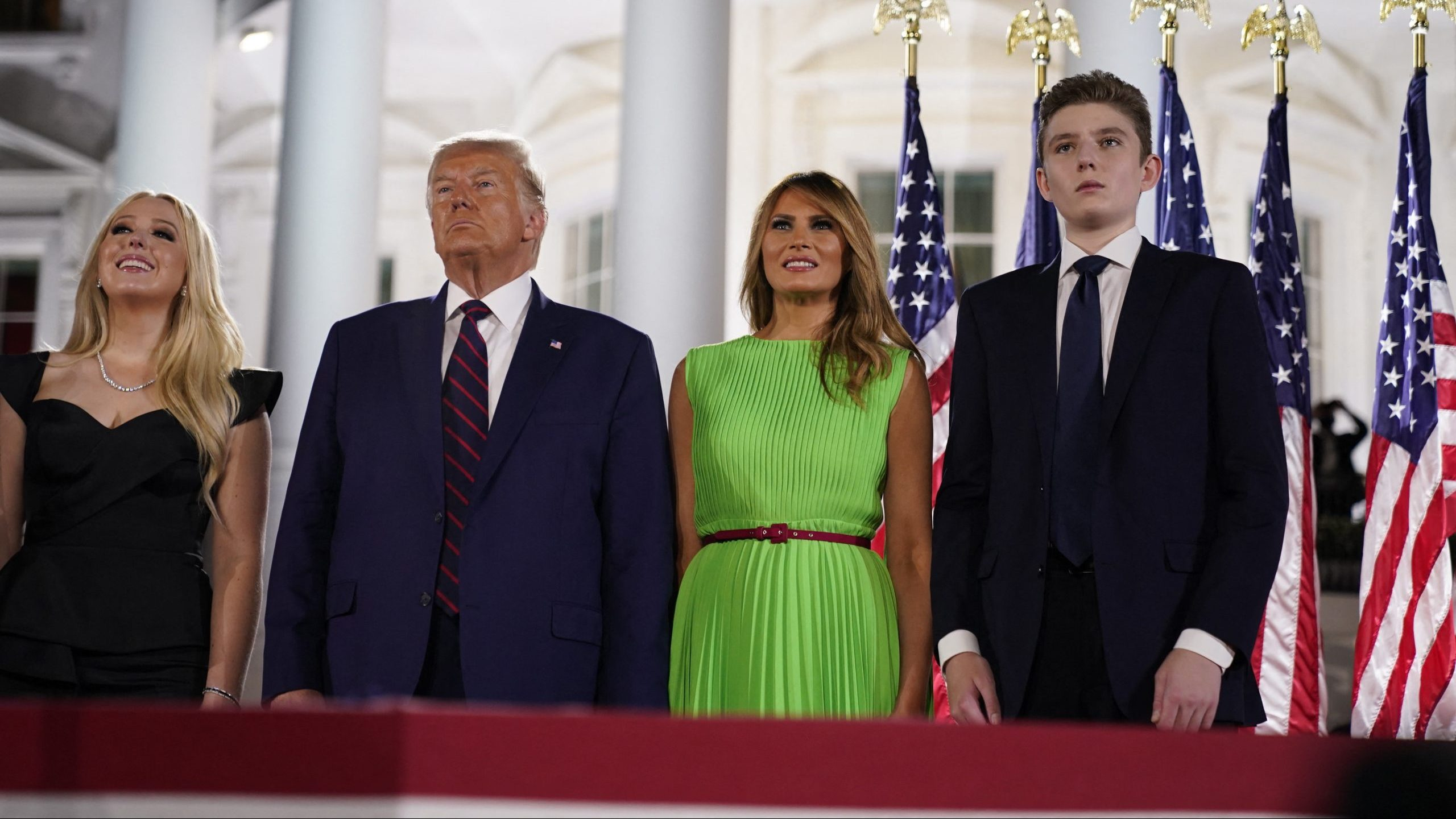 First lady Melania Trump confirms negative COVID-19 test, says son Barron tested positive but is now negative