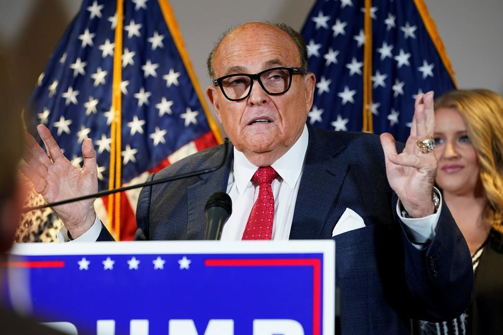 Trump's attorney Rudy Giuliani tests COVID positive