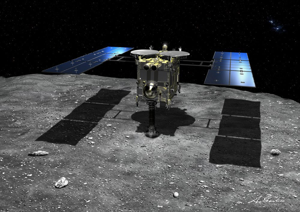 Asteroid samples to point to Earth origins