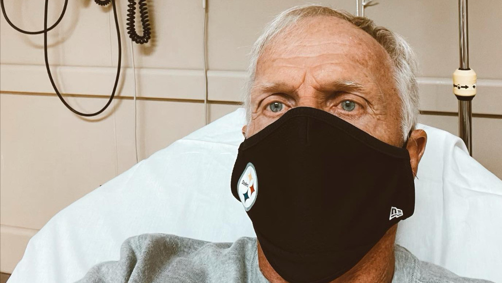 Greg Norman hospitalised with COVID-19